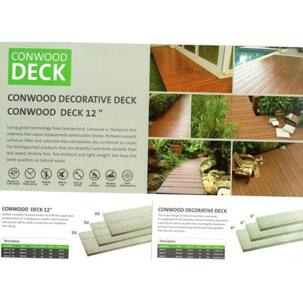 Conwood Deck Lantai Kayu Parket