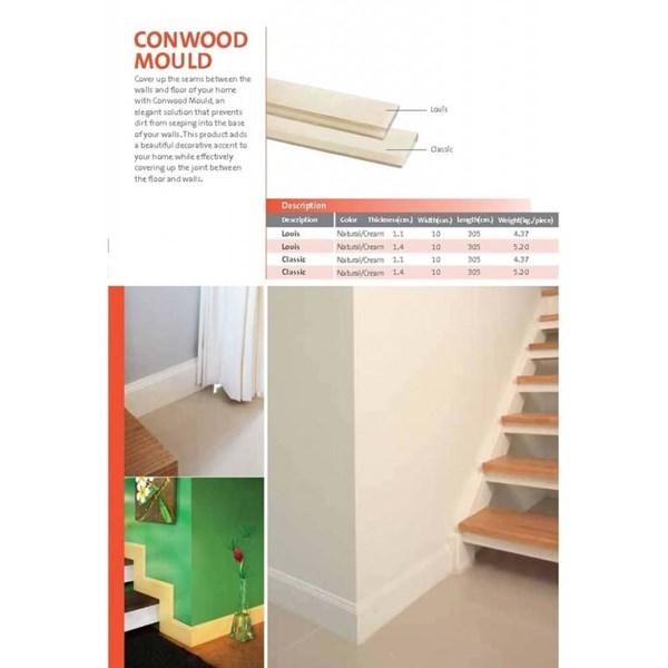 Conwood Moulding Lantai Kayu Parket