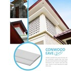 Conwood Eave 2 In 1 Dinding Partisi  2