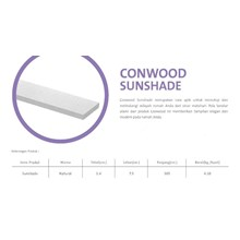 Conwood Sunshade