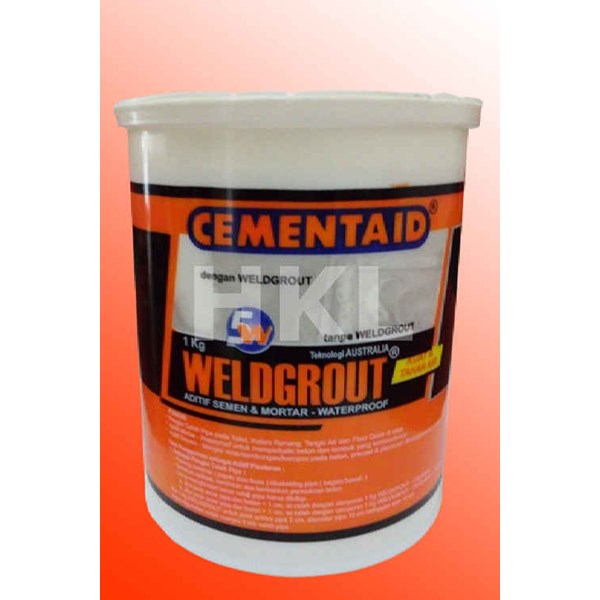 Cementaid Weldgrout anti crack n shrink additive Aditif Semen n Mortar Waterproof