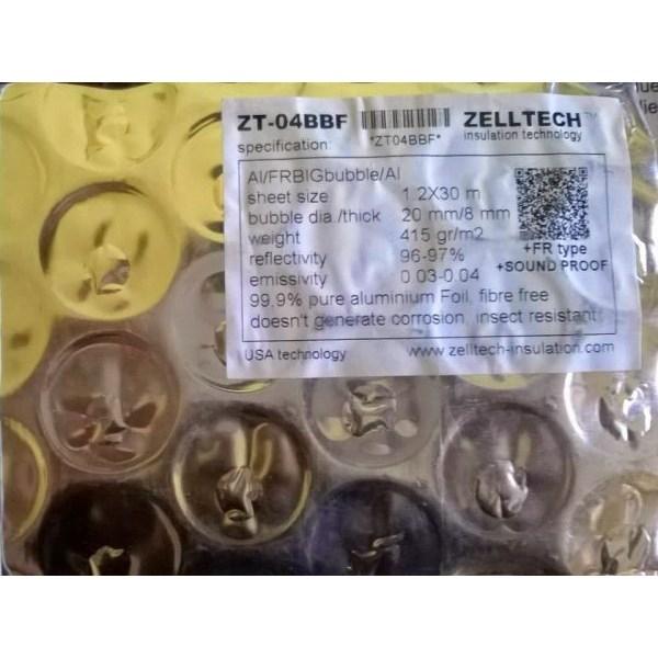 Murah Aluminium Foil Zelltech ZT-04BBF