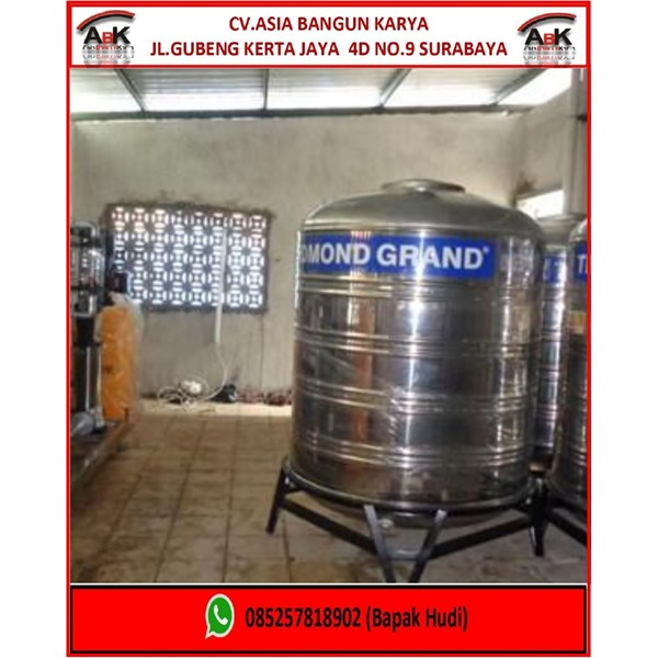 Tangki Air Tedmond Grand Stainless
