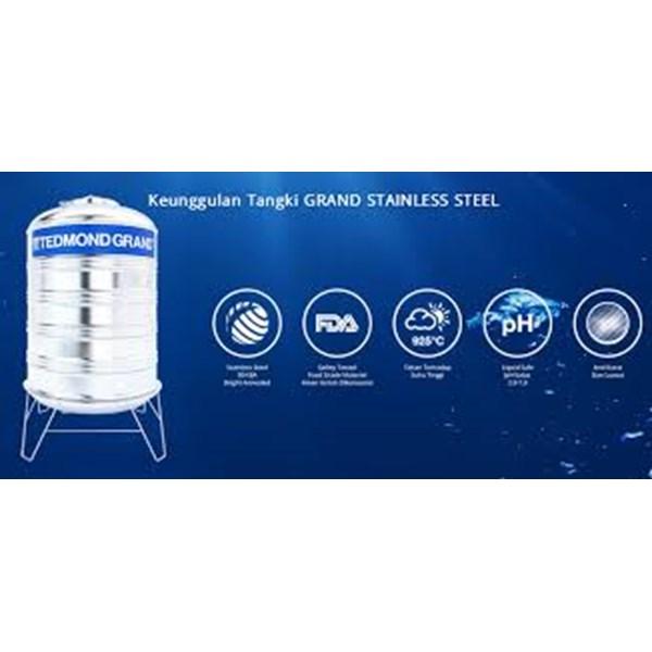 Tangki Air Tedmond Grand Stainless