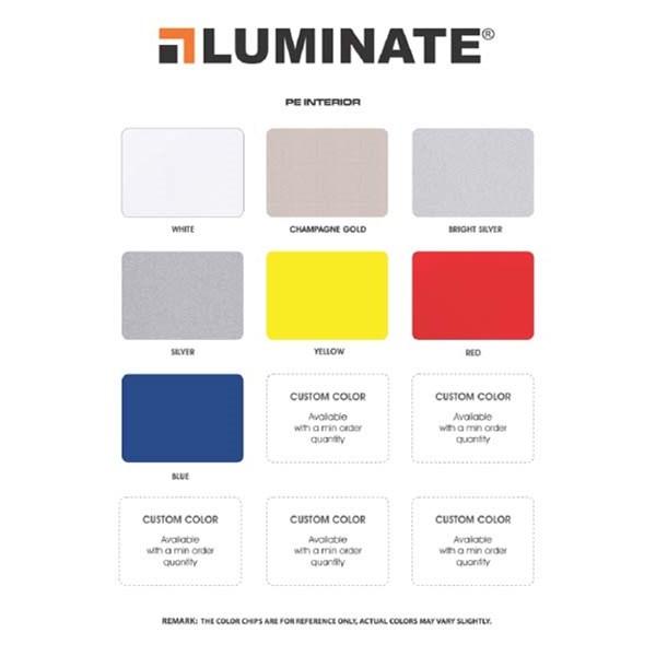 Aluminium Composite Panel LUMINATE PE