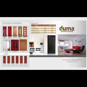 Dari Pintu PVC Duma Premium Composite Door 3