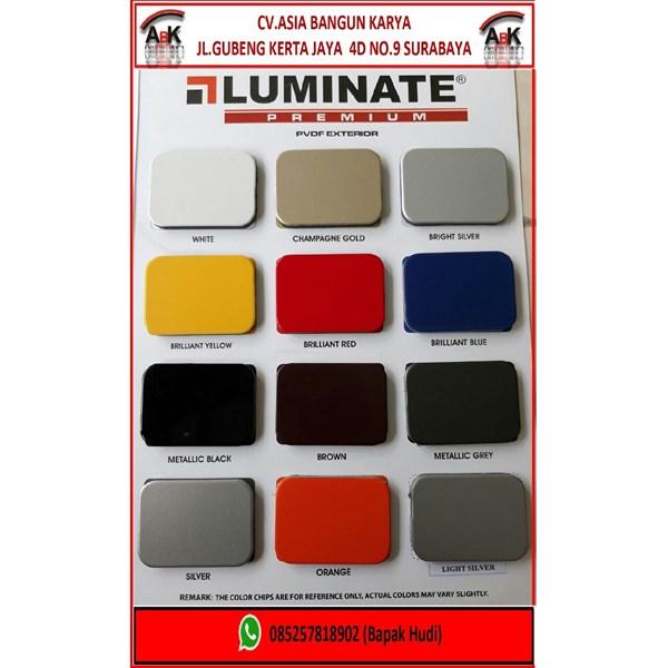 Aluminium Composite Panel LUMINATE PVDF