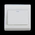 Stop Kontak F161611 16AX 250V ~ 1 Gang 1 Way Switch dengan Fluorescent Locator 1
