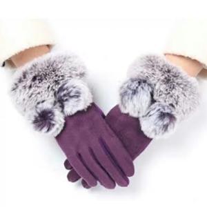 Sarung Tangan Wanita Thermal Bulu