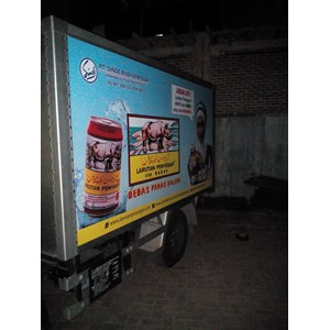 Branding mobil By PT Tara Eka Mandiri