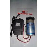 Pompa pendorong JFlo 1600 kapasitas 230 Liter per jam dan adaptor 1