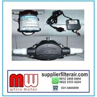 pompa pendorong KSH AL 888 kapasitas 2.75 Liter per menit