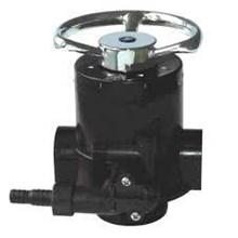 manual softener valve