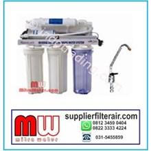 Mesin  RO 75 GPD kapasitas 240 Liter per hari