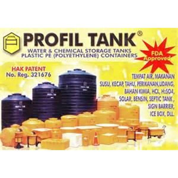 TANDON AIR PLASTIK PE MERK PROFIL