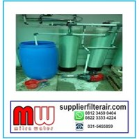 Filter Air Sumur Bor 2 Tabung