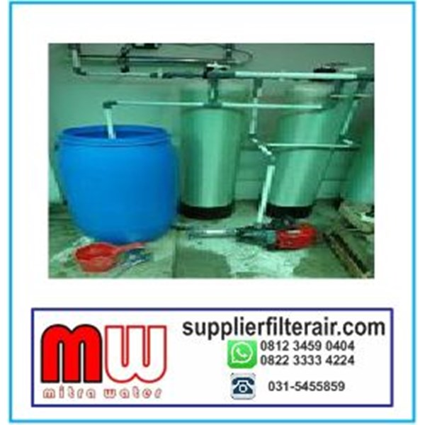 Filter Air Sumur Bor 2 Tabung