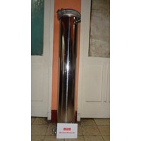 Dari HOUSING MEMBRAN RO STAINLESS STEEL 10.000 GPD 0