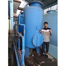 SAND FILTER DAN CARBON FILTER KAP 30 M3 PER JAM