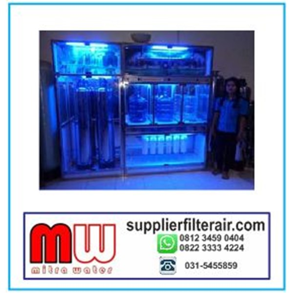 DEPOT AIR MINUM ISI ULANG  STAINLESS STEEL