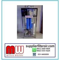 mesin penyaring ultrafiltrasi kapasitas 1000 liter per jam