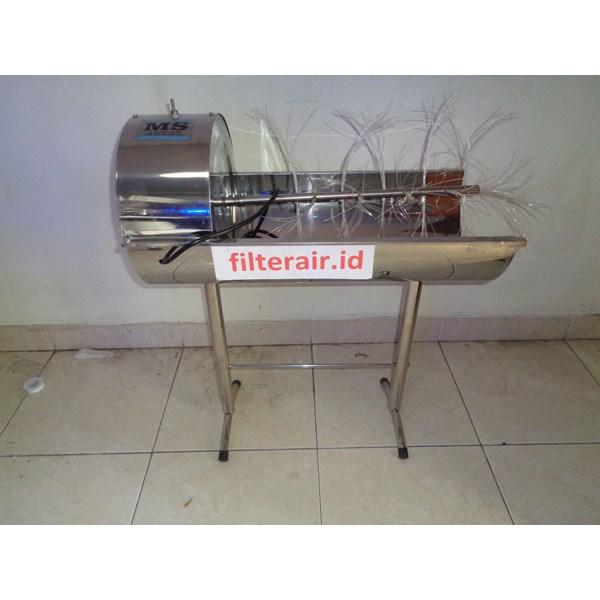 Mesin sikat galon stainless steel
