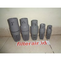 Foot valve PVC