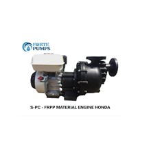 Pompa kimia Forte Pump S-PC5032L Motor Engine atau Diesel