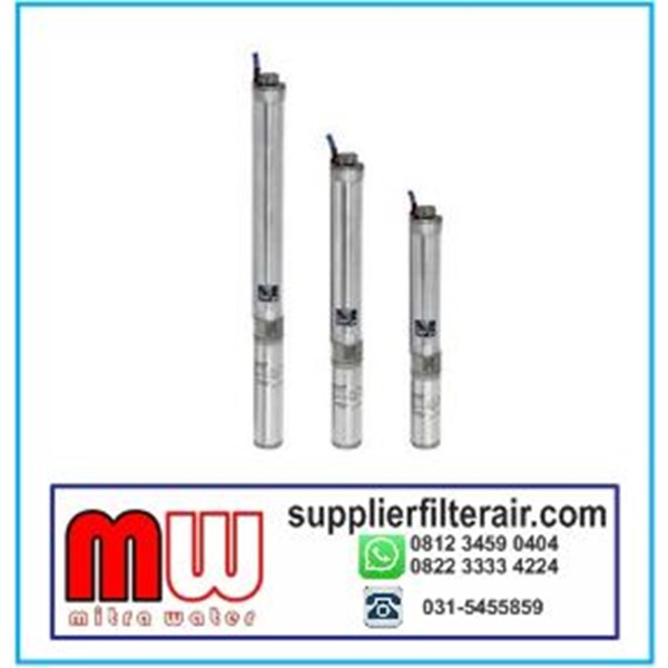Submersible Pump Water Cooling Multi Stage Sand Resistance