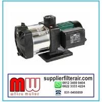 Pompa Booster Multi Inox Stainless Steel Multistage impeller Merk DAB