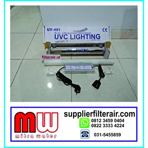 Lampu ULTRAVIOLET UVC 4 GPM 24 WATT