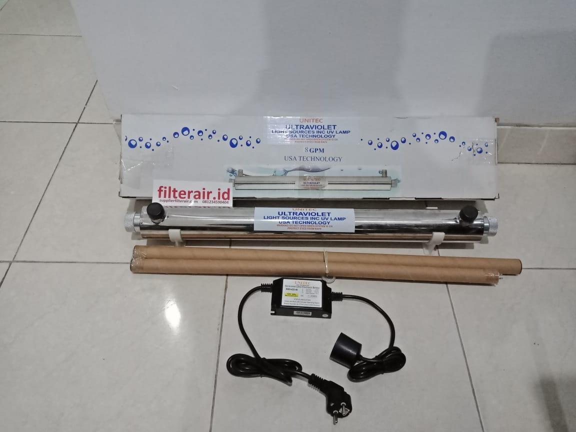 Jual Lampu Ultraviolet Unitech 8 Gpm Harga Murah Surabaya