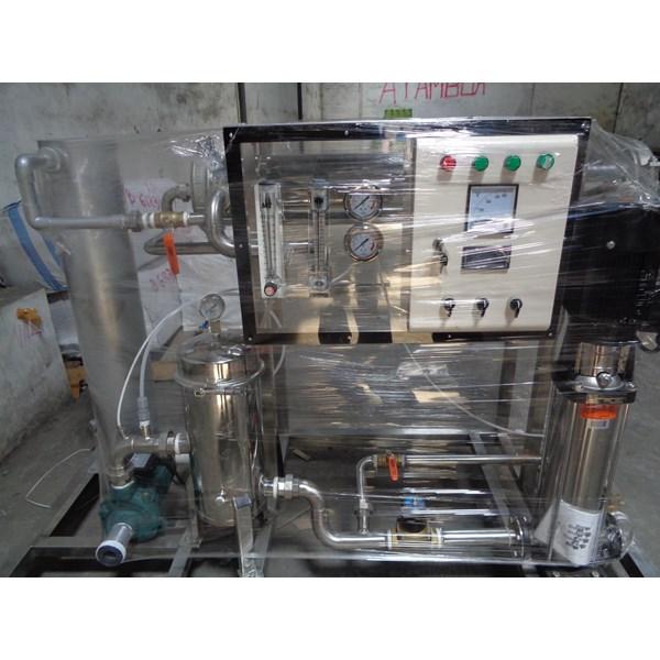 Mesin RO air payau BWRO Kapasitas 1.000 liter per jam