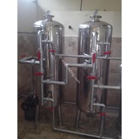 Jual Tabung Filter Air Stainless Steel  2