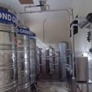 Paket AMDK Air RO kemasan gelas dan botol