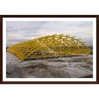 Konstruksi Atap Pipa 1 1
