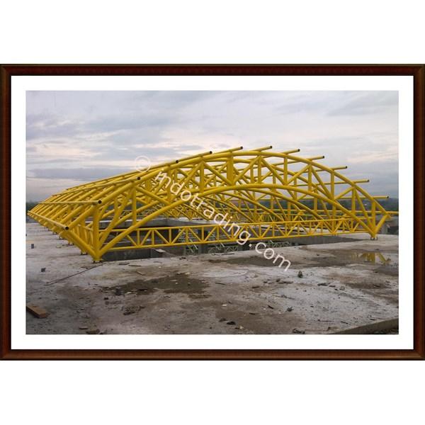Konstruksi Atap Pipa 1