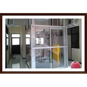 Konstruksi Hoistway Lift 1