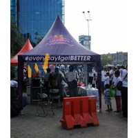 Tenda Sarnafil Celebrity Fitness 1