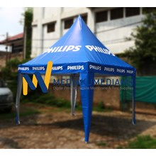 Promotional tents - tents Sarnafil 3m PHILIPS