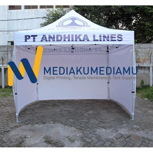 tenda lipat aluminium 3mx3m
