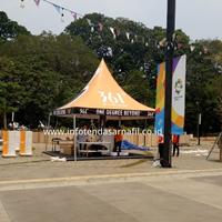Tenda Sarnafil 5m Branding Perlengkapan Pameran