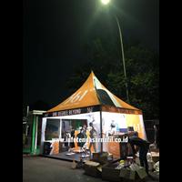 Tenda Sarnafil 5mx5m Perlengkapan Pameran