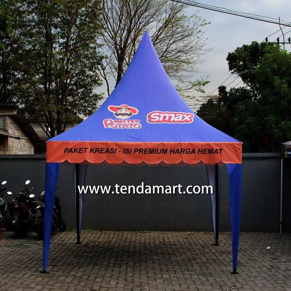 Tenda Promosi 3mx3m Kerucut POTATO