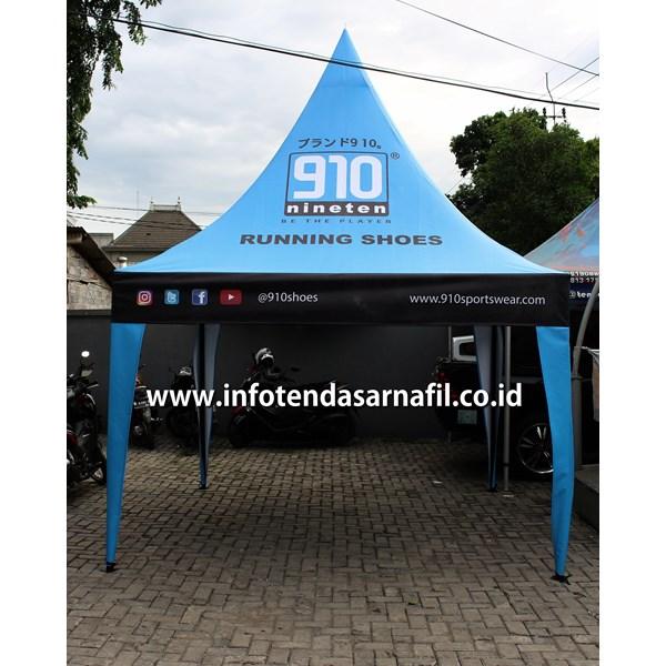 Tenda Promosi Kerucut 3mx3m