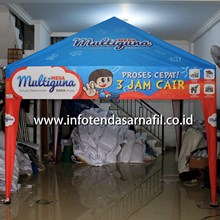 Tenda Promosi  3mx3m pyramid