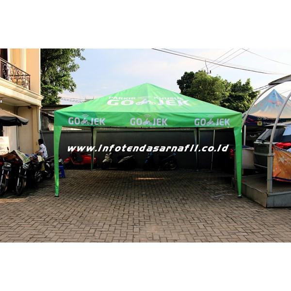 Tenda Promosi 5mx5m GOJEK