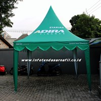 Tenda Kerucut 3mx3m ADIRA FINANCE