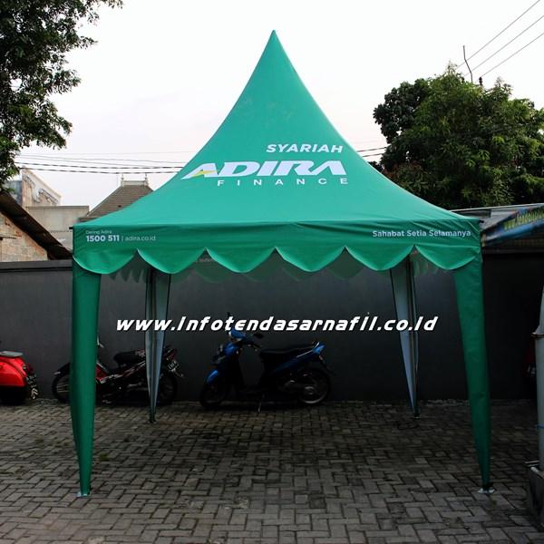 Tenda Kerucut 3mx3m ADIRA FINANCE