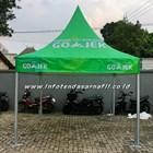 tenda sarnafil custom 3mx3m GOJEK 2